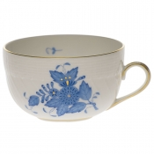 Chinese Bouquet Blue CANTON CUP  (6 OZ)