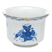 Herend Mini Cachepot - Chinese Bouquet Blue