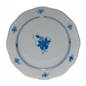 "Chinese Bouquet Blue ROUND PLATTER   13.75""D"