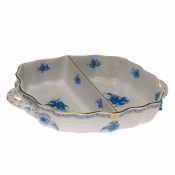 Chinese Bouquet Blue DIVIDED HORS DOEUVRE