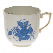 Chinese Bouquet Blue MOCHA CUP