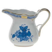 Chinese Bouquet Blue CREAMER  (6 OZ)