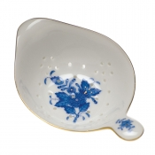 Chinese Bouquet Blue TEA STRAINER