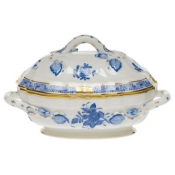 Long Mini Tureen - Blue