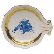 Large Shell Dish - Blue