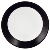 Seychelles Black  Deep Cereal Plate