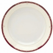 Scala Red Gold Filet  Soup/Cereal Plate