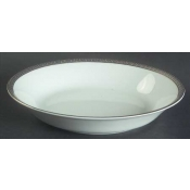 Athos Gold & Platinum  Soup/Cereal Plate