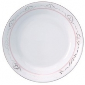 Margot Pink  Soup/Cereal Plate