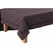 "Juliska Chalet Tartan 70""x108"" Table Cloth"