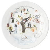 Juliska 12 Days of Christmas Salad Plates - 9""