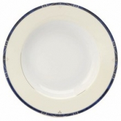 Scala Blue Gold Filet  Pasta Bowl