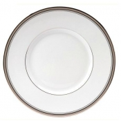 Excellence Grey  Dessert Plate Large Rim