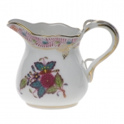 "Chinese Bouquet Multicolor CREAMER  (1.5 OZ) 2""H"