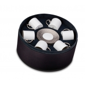 Espresso Cup +Saucer  (Gift Box of 6)