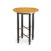 L'Objet Alchimie Gold Side Table