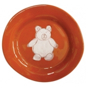 Alex Marshall 3 Piece Character Baby Dish Set - Brown Bear