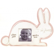 Alex Marshall Pink Bunny / White Character Frame
