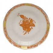 Chinese Bouquet Rust AFTER DINNER SAUCER