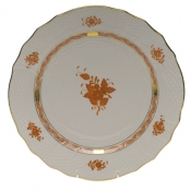 Chinese Bouquet Rust SERVICE PLATE