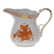 "Chinese Bouquet Rust CREAMER  (6 OZ) 3.5""H"