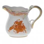 "Chinese Bouquet Rust CREAMER  (1.5 OZ) 2""H"
