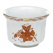 Herend Mini Cachepot - Chinese Bouquet Rust