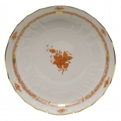"Chinese Bouquet Rust OPEN VEGETABLE BOWL  10.5""D"