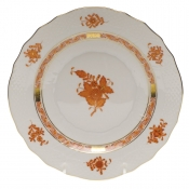 Chinese Bouquet Rust SALAD PLATE