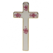 Herend Cross Raspberry