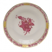 Chinese Bouquet Raspberry AFTER DINNER SAUCER
