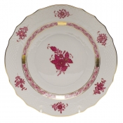Chinese Bouquet Raspberry SALAD PLATE