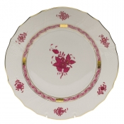 Chinese Bouquet Raspberry DINNER PLATE