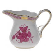 "Chinese Bouquet Raspberry CREAMER  (6 OZ) 3.5""H"