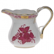 "Chinese Bouquet Raspberry CREAMER  (4 OZ) 3.25""H"