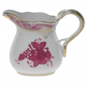"Chinese Bouquet Raspberry CREAMER  (1.5 OZ) 2""H"
