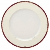 Scala Red Gold Filet  Dinner Plate