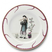 Chinoiserie Buffet Plate - #1