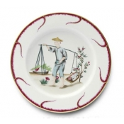 Chinoiserie Buffet Plate - #2
