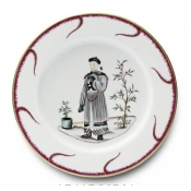 Chinoiserie Buffet Plate - #3