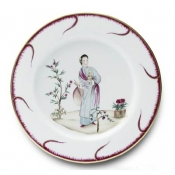 Chinoiserie Buffet Plate - #4