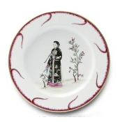 Chinoiserie Buffet Plate - #5