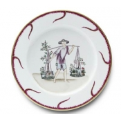 Chinoiserie Buffet Plate - #6