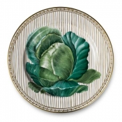 Potager Gold Buffet Plate / 4