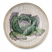 Potager Gold Buffet Plate / 5