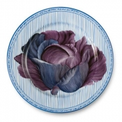 Potager Blue Buffet Plate / 1