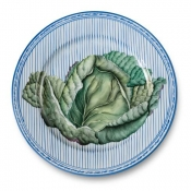 Potager Blue Buffet Plate / 2