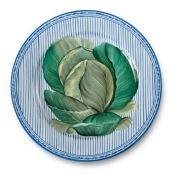 Potager Blue Buffet Plate / 3