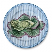 Potager Blue Buffet Plate / 4