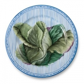Potager Blue Buffet Plate / 6